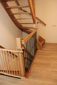 Bovenkwart trappen