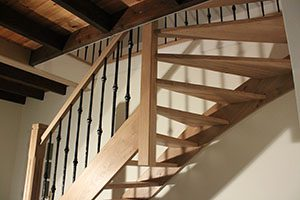 Steekkwart open trappen