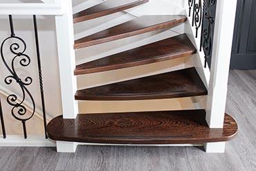 Traptreden van de coolwijk trappen for Dikte traptreden hout
