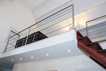 Trappen met rvs elementen van de coolwijk trappen for Trap op maat bestellen