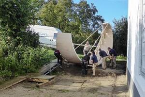 Bouw ronde trap - Van de Coolwijk Trappen